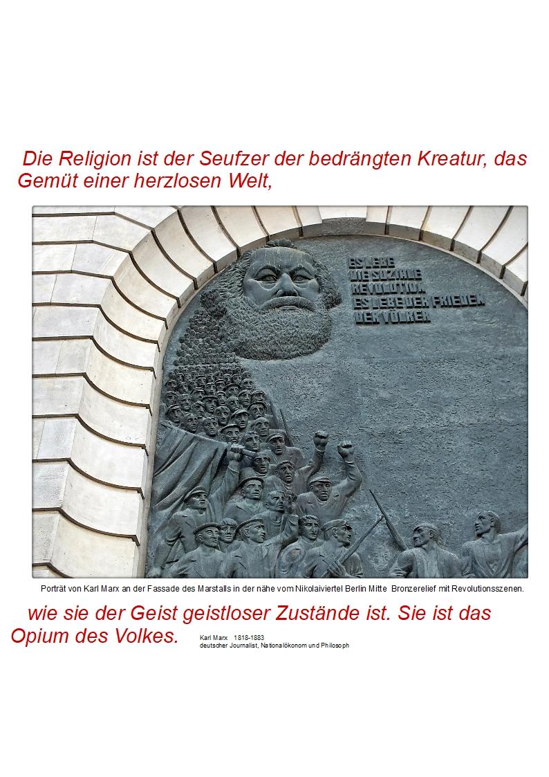 die religion – der geist + dasvolk